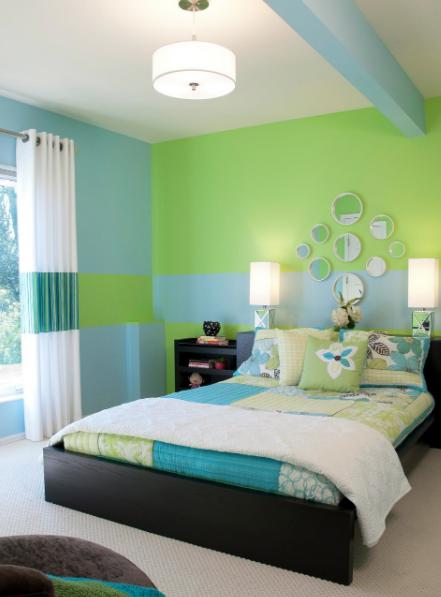 10 Desain Kamar Tidur Minimalis Warna Hijau Desain Rumah