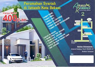 Property Syariah Jatiasih Arkanza 2 | Hijrah Property Syariah