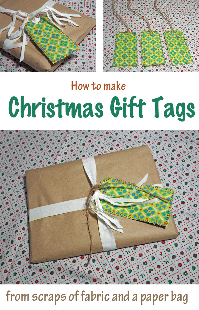 Easy Christmas Gift Tags DIY ~ TUTORIAL showing how to make them at  Threading My Way