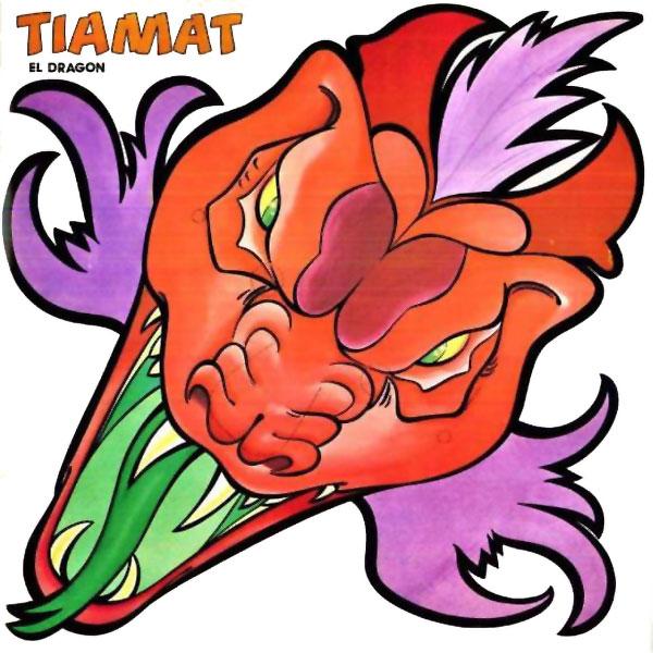 El libro de las máscaras Dragones y Mazmorras Tiamat el dragón