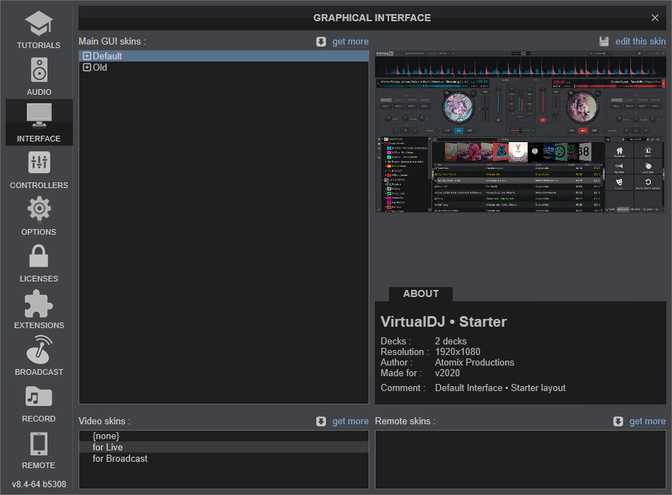 Virtual DJ 2021  v8.4 Build 5922