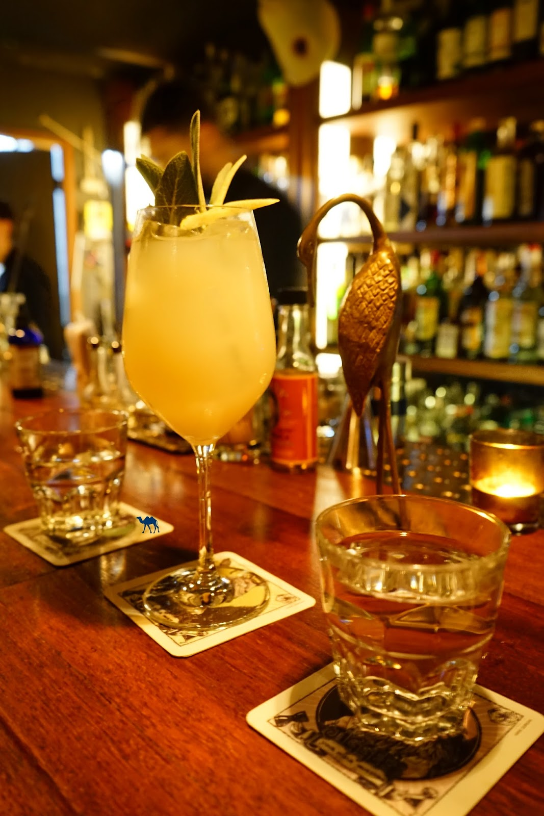 Le Chameau Bleu - Cocktails du Jiggers Bar à Cocktails de Gand Belgique