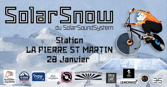 Solar SNOW System La Pierre Saint Martin 2018