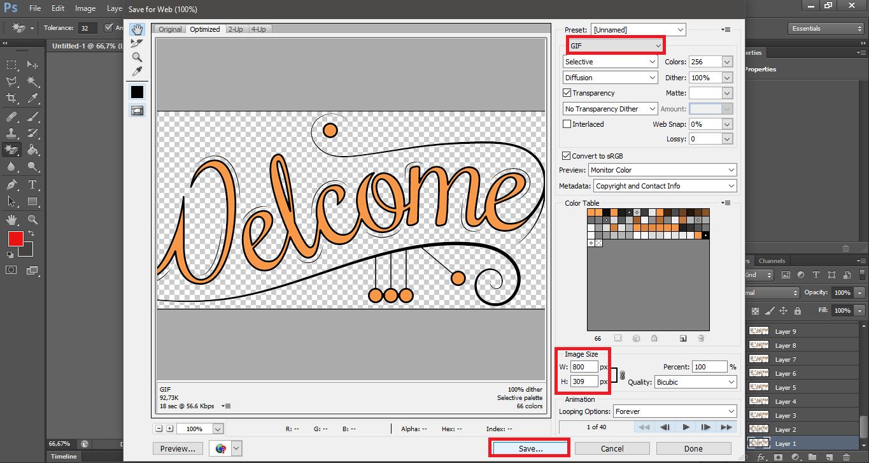 Cara edit gambar GIF dengan Photoshop [Gambar bergerak ...