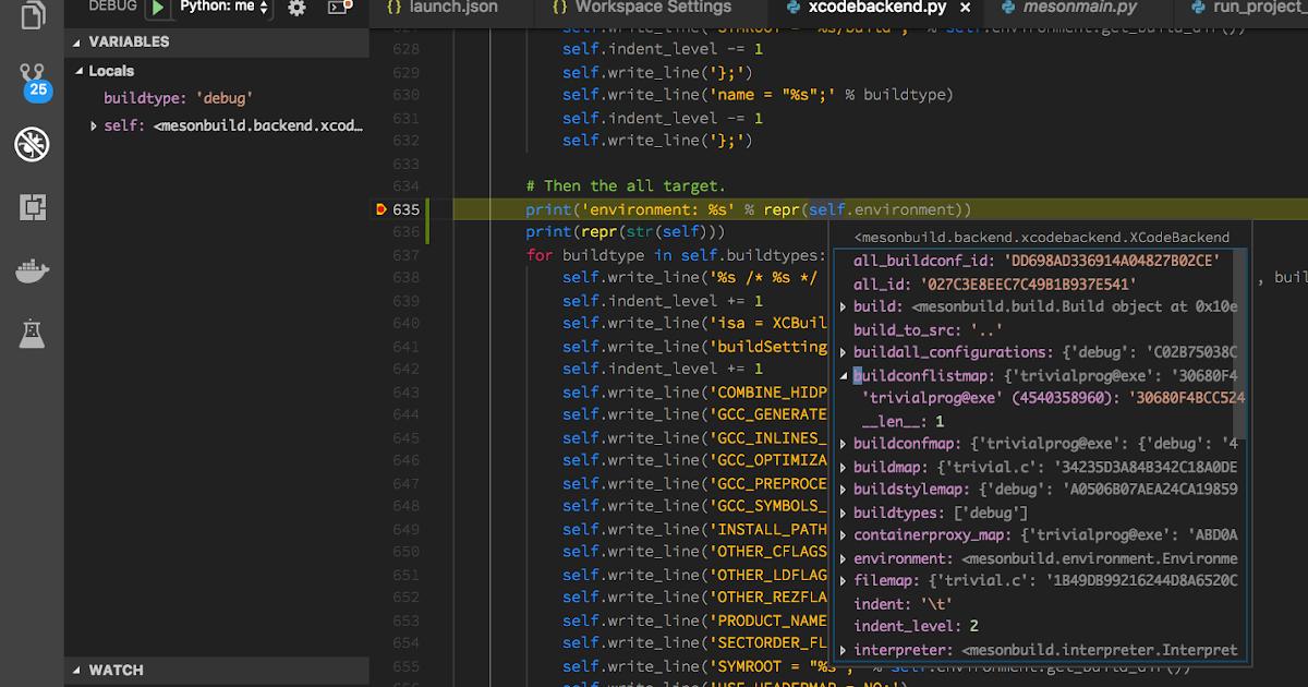 Debugging meson | Nacho4d - Programming notes