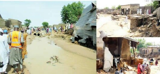 How Deadly Flood Killed 44, Destroy 500 Houses In Katsina