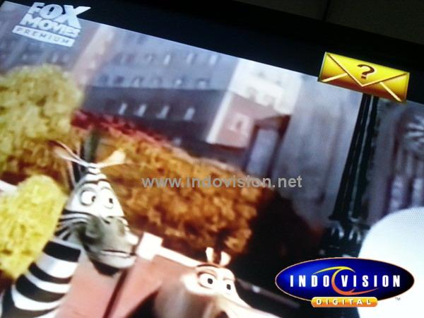 Cara menghapus tanda pesan surat di layar tv indovision.