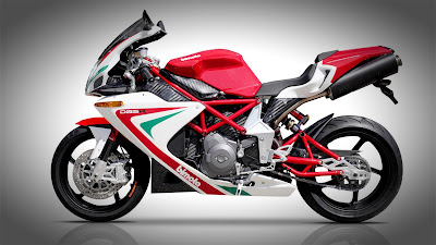 Bimota DB5 side view wallpaper
