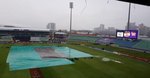 Kingsmead Rained Out Again - Durban - Cricket Stadium - Rain