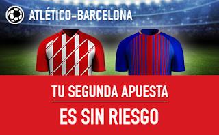 sportium promocion Atlético vs Barcelona 14 octubre