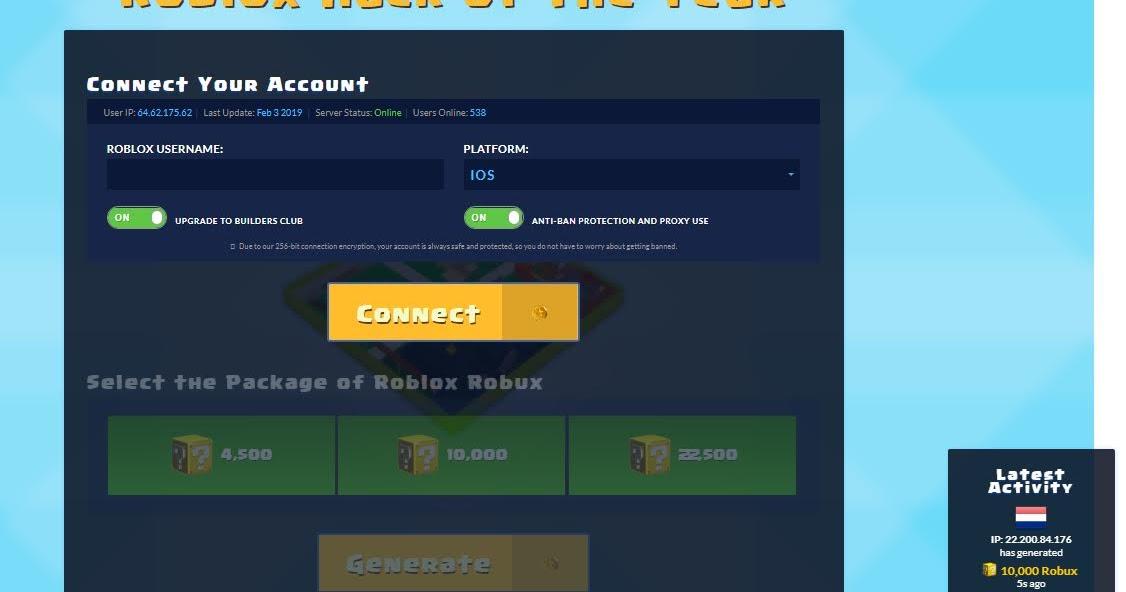 Roblox Accounts Generator