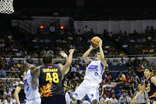 Image: PJ Simon - San Mig Coffee vs. Rain or Shine