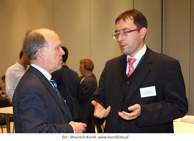 Nasza prelekcja zainteresowała m.in. przedstawiciela Komisji Europejskiej