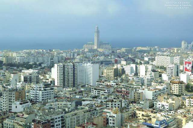 Panorama Casablanki z Twin Center