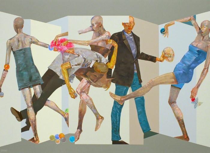 Вьетнамский художник. Huy Dao Quoc