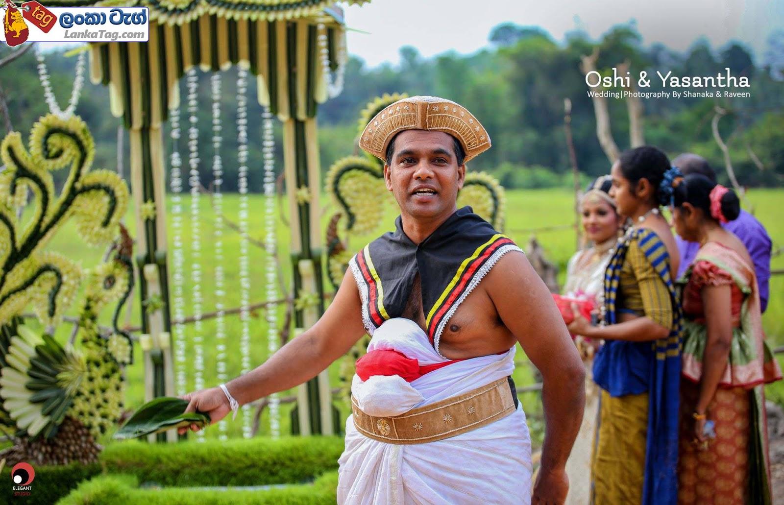 sri lankan wedding dress  5