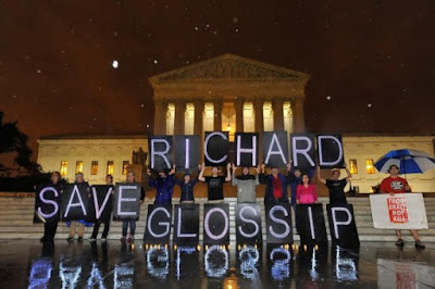 Protesting Richard's Glossip's execution