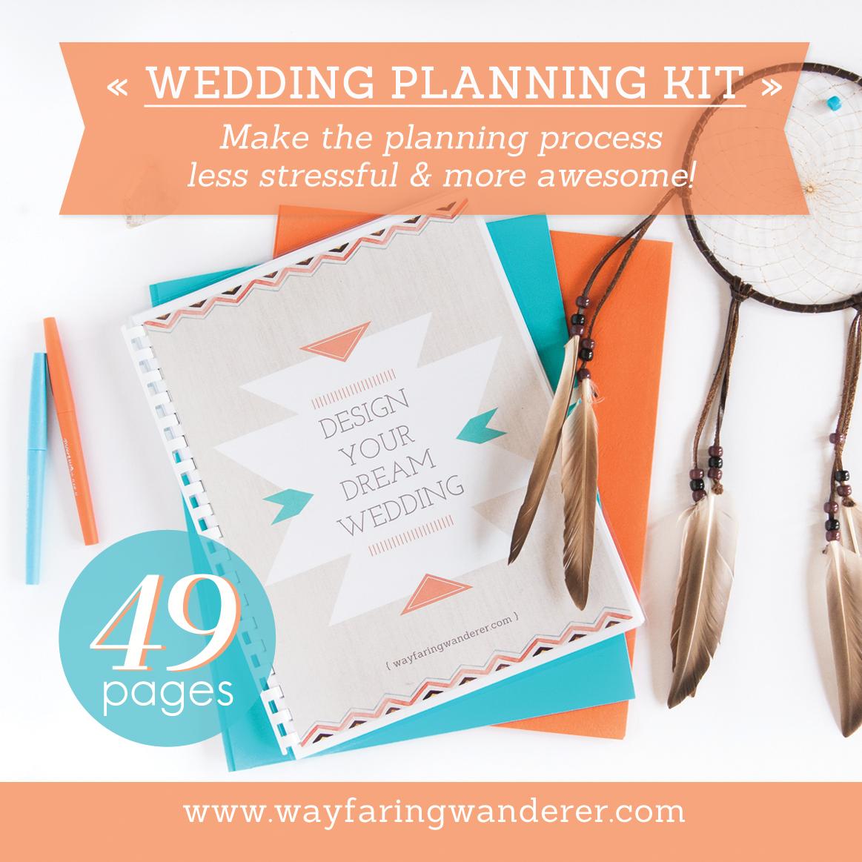 Wedding Planning Workbook Checklist