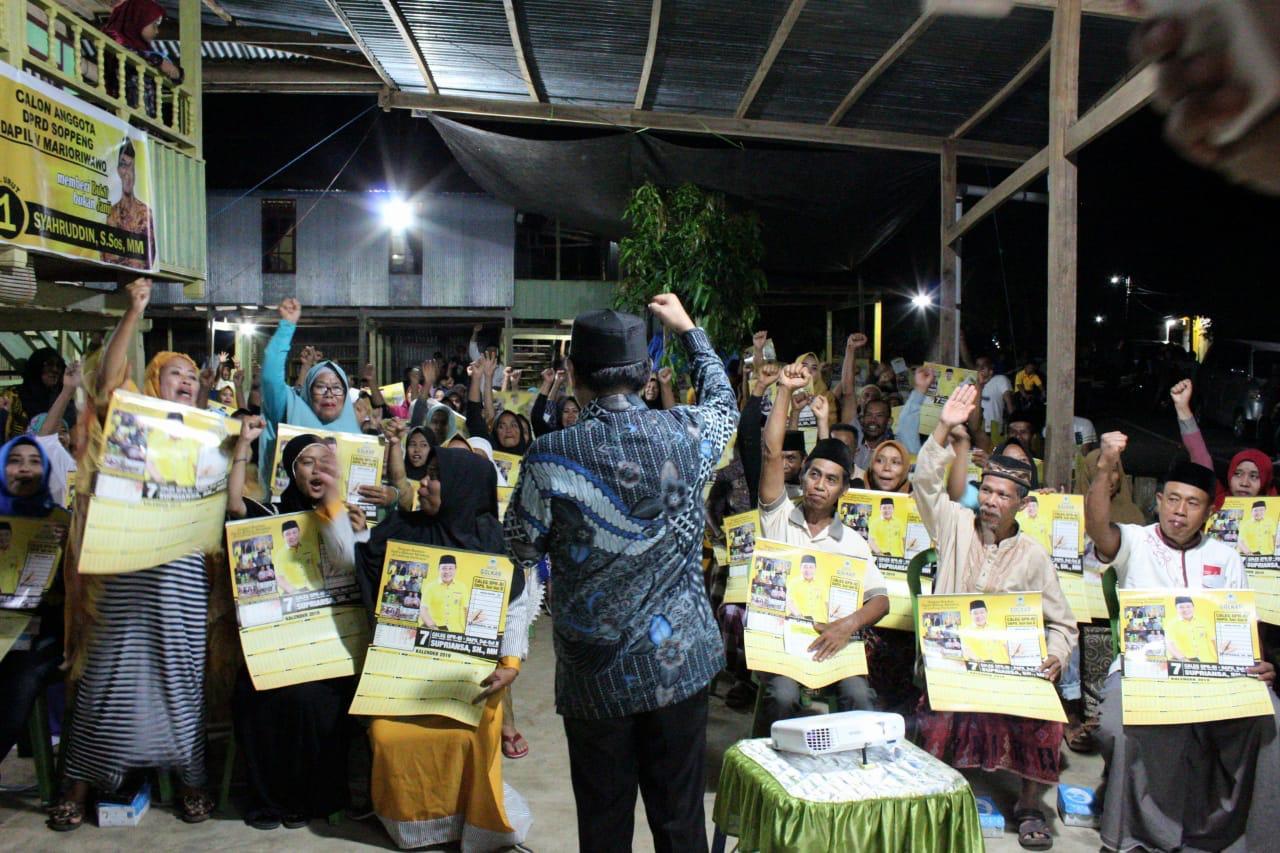 Meski Survei di Puncak, Supriansa tetap Aktif Tatap Muka dengan Masyarakat