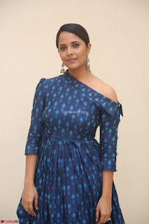 Anchor Anasuya in a Blue Gown at Jai Lava Kusa Trailer Launch ~  Exclusive Celebrities Galleries 040.JPG
