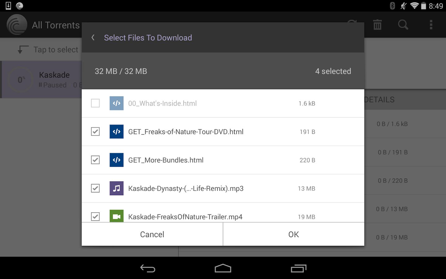 torrent android apk