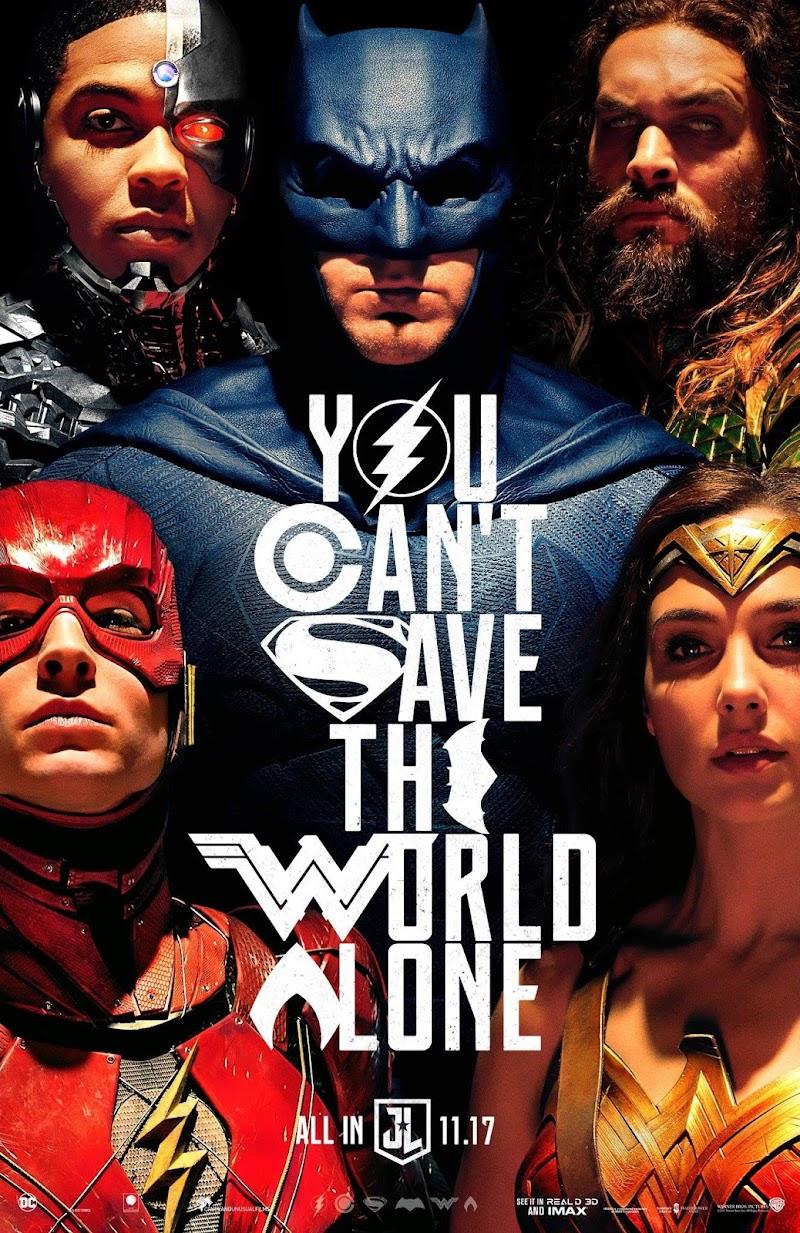 Review Justice League: Kerjasama Berawal dari Rasa Takut