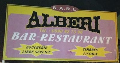 Albéri & Fils, un resto atypique