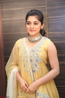 Nivetha Thamos in bright yellow dress at Ninnu Kori pre release function ~  Exclusive (55).JPG