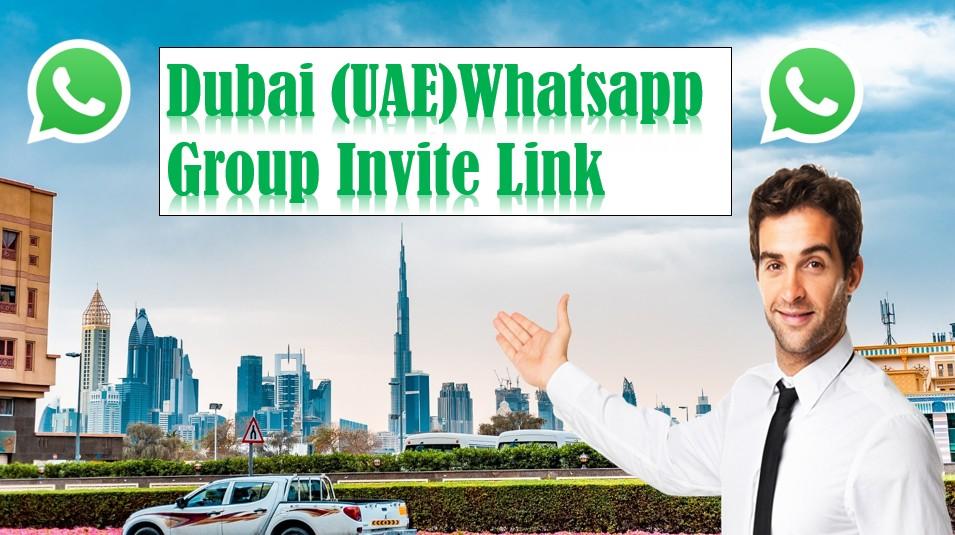 Get Dubai Whatsapp Group Invite Link | Active Whatsapp Group Link