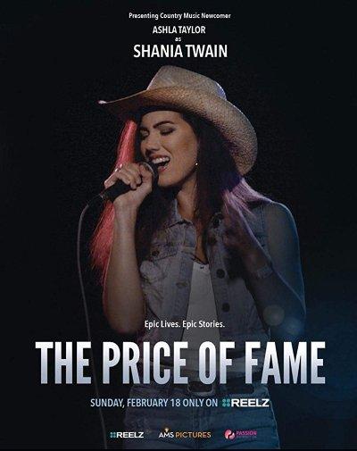Newcomer Ashla Taylor To Play Shania Twain For Reelz