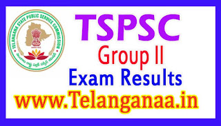 TSPSC 2017 Group II Exam Results Check Online tspsc.gov.in