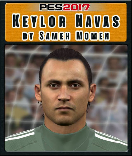 Keylor Navas New Face PES 2017