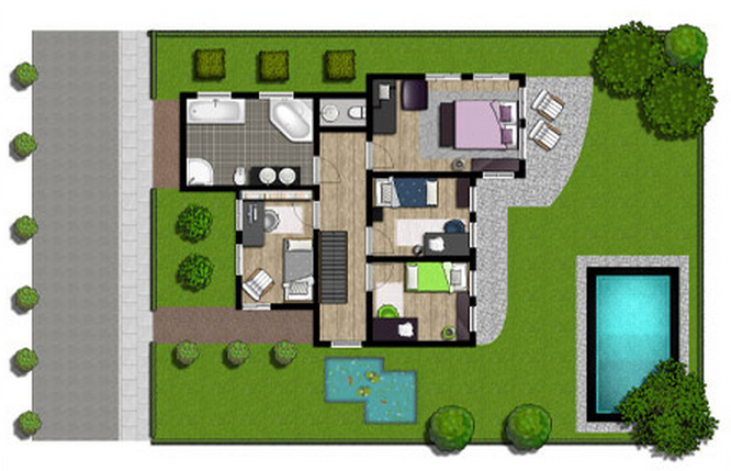 Design and Create your own Home in 3D using FREE Floorplanner 4