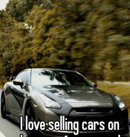 I Love Selling Cars