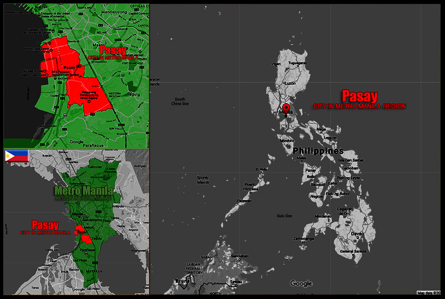 MAP OF PASAY CITY