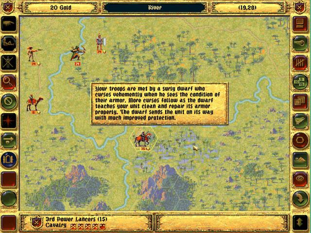 Bonus Traits | Fantasy General Screenshot
