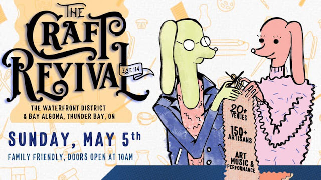 poster for Craft Revival Tbay 2019