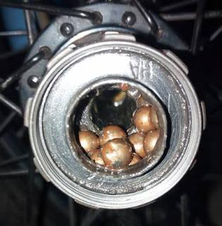Rusty Ball Bearings
