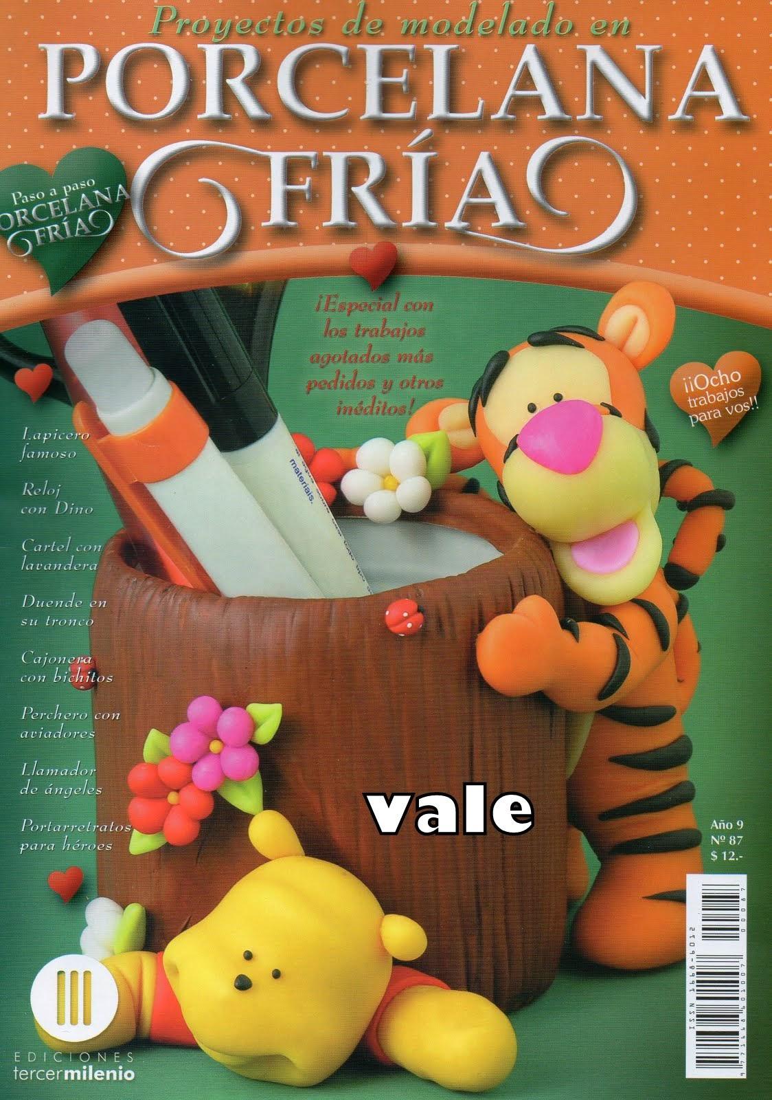 Como hacer a tigger en porcelana fr a revistas de for Revistas de decoracion gratis