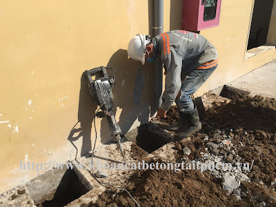 Khoan cắt bê tông tại thành phố Rạch Giá