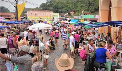 Feira dos Caxixis reúne música e artesanato em Nazaré nesse final de semana
