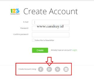 Contact Form Online Di 123contactform