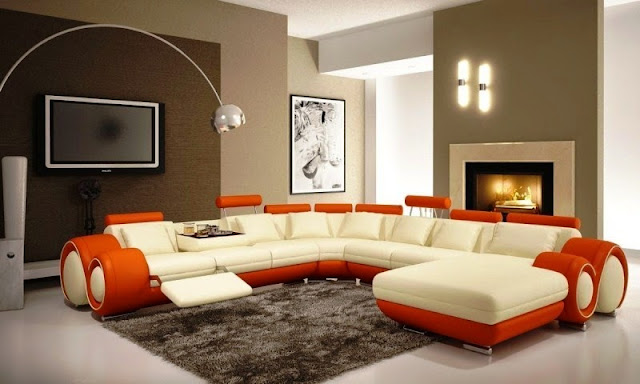 best color for living room accent wall