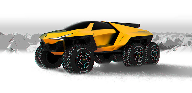 2018 Lamborghini Raton Design Study Lamborghini Raton Design