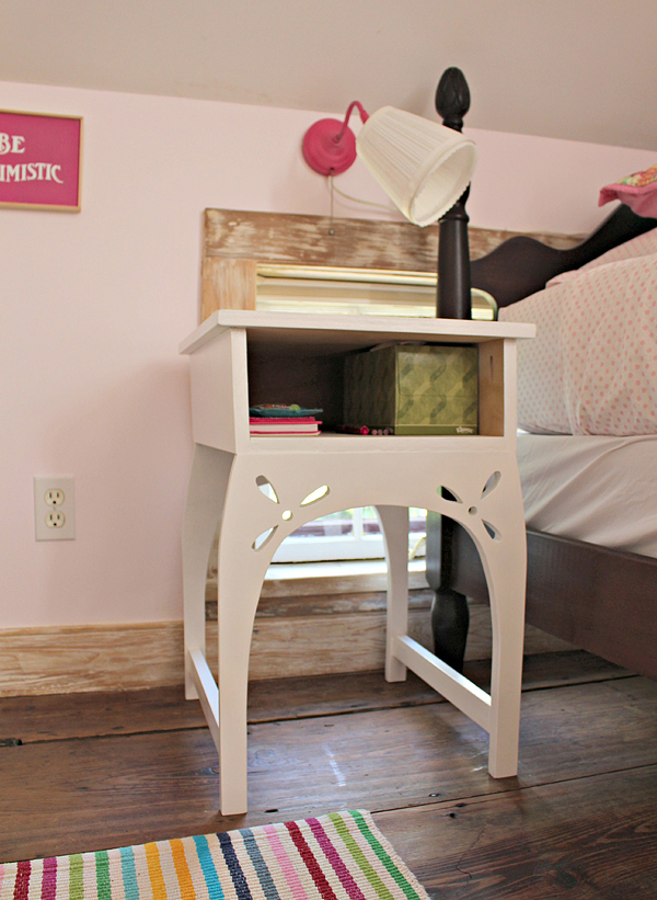 diy plywood nightstand