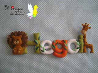 nombre-fieltro-felt-feltnama-name-banner-elbosquedelulu-hechoamanoparati-regalo-personalizado-decoración-infantil-baburoom