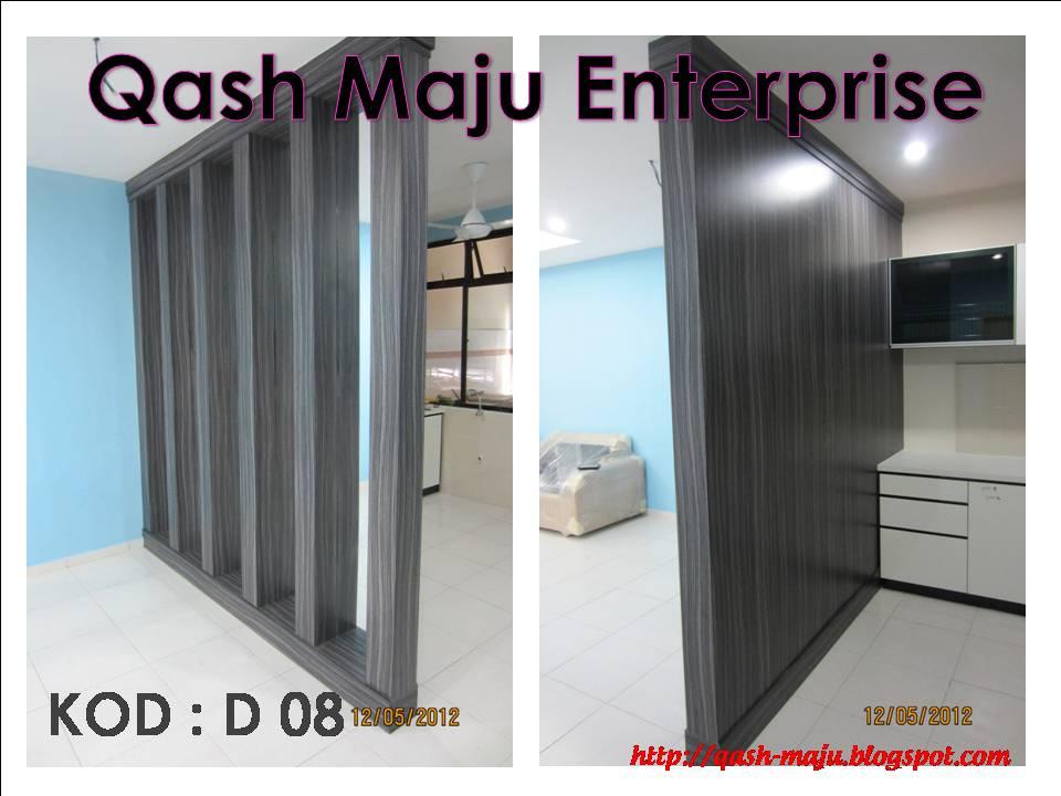 Pembahagi Ruang Lokasi Kangkar I Johor Bahru Material Solid Plywood Laminate Cermin Muka