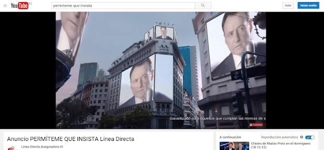 Matías Prats - Línea Directa - Anuncio - Youtube - Anuncios de Seguros que me hacen sentir inseguro - Publicidad - Campaña de Publicidad - ÁlvaroGP - Álvaro García - el troblogdita