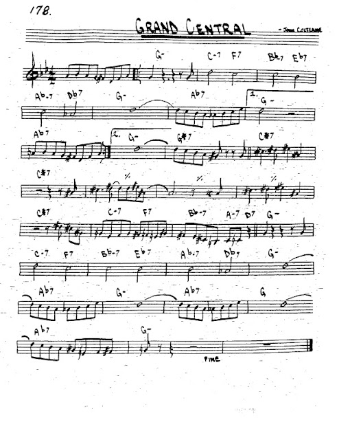 Partitura Trompeta John Coltrane