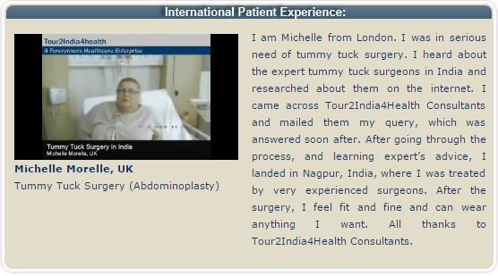 Tummy Tuck Surgery – Procedure & Recovery with Tour2India4Health